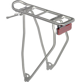 "Racktime I-Valo Light Bike Rack 28"" Dynamo operation silver"